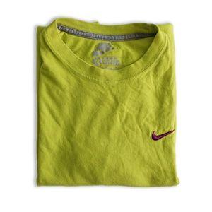 Nike Neon Green Men's Tee Size M
